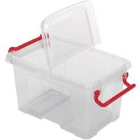 Office Depot Opbergdoos Transparant plastic 13,5 x 19,5 x 12 cm