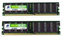 Corsair 8GB (2x4GB) DDR3 1600MHz UDIMM Speichermodul