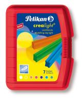 Crealight 222/7, 105 x 12 mm, 100 g, 7 Farben, rot