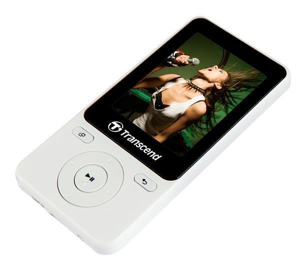 Transcend MP4 player MP710 2'' 8GB, FM, Micro USB2.0, White - TS8GMP710W
