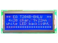 Display: LCD; alphanumerisch; STN Negative; 20x4; blau; LED; PIN:16