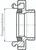 Zeichnung: Größenbestimmung Storz-Kupplung
