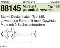 Starke Deckenhaken M10x140x22
