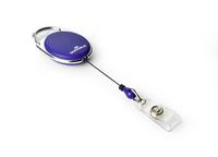 Durable 8324-07 Porte-badge avec enrouleur Bleu 10 pièce(s)