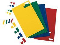 Magnetic Symbols, Square, 112 pcs./Bag
