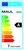 Energieeffizienzetikett für elektrische Lampen