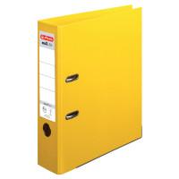Ordner maX.file protect plus A4 8cm gelb, PP-Kunststoffbezug/PP-Kunststoffbezug