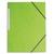 5 ETOILES Chemise simple � �lastique en carte lustr�e 5/10eme 390g.Coloris vert clair. Dimensions 24x32cm