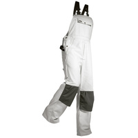 Maler-Latzhose 2611 weiß Gr. 52