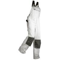 Maler-Latzhose 2611 weiß Gr. 50