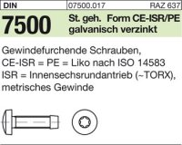 DIN7500 CEM5x40-T25