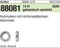 Nutmuttern GUK8/M40x1,5