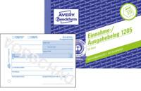 Einnahme/Ausgabebeleg, Recycling-Papier, DIN A6 quer, 50Bl.