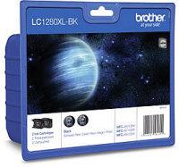 Brother Tinten-Blisterset LC-1280XLBKBP2DR Twinpack