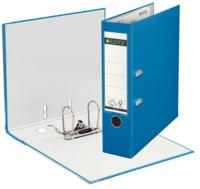 Qualitäts-Ordner Plastik, mit Schlitzen, A4, breit, hellblau
