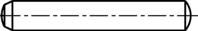 DIN 6325 Zylinderstifte gehärtet, Stahl Toleranzfeld m6 6x70mm HP