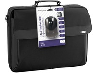 """Clamshell Bag 15.6"""", Black With Wireless Mouse Notebooktasche"""