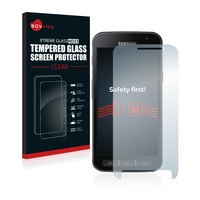 Savvies® Xtreme Glass HD33 Clear Panzerglasfolie für Samsung Galaxy Xcover 4