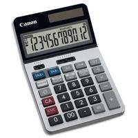 CANON Calculatrice de bureau professionnelle 12 chiffres, tax+/tax-, écran inclinable KS-1220TSG