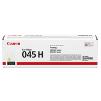 CANON Cartouche Laser 045H Jaune 1243C002