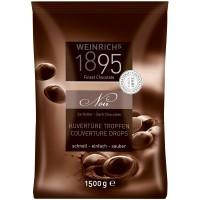 Weinrichs Kuvertüre Tropfen Zartbitter 1,5 kg, Schokolade