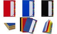 PAGNA Ordnungsmappe DESKORGANIZER Color, 7 Fächer, blau (64417102)
