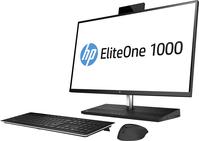 "HP EliteOne 1000 G2 68,6 cm (27"") 3840 x 2160 Pixels Intel® 8de generatie Core™ i5 8 GB DDR4-SDRAM 256 GB SSD Zwart Alles-in-één-pc Windows 10 Pro"
