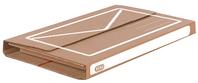 ELBA Versandverpackung mail u. ship, DIN A4 Format, Hoehe variabel 1-5 cm