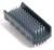 Detailbild - Handwaschbürste Plastikkörper Borsten: einseitig Nylon