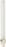 Kompaktleuchtstofflampe 11W G23 wws PL-S 11W/827/2P