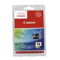 CANON pack de 2 cartouches 3 couleurs BCI16CL