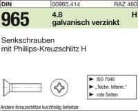 DIN965 M6x8-H