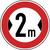 Anwendungsbeispiel: VZ Nr. 264, (Verbot für Fahrzeuge über... Breite)