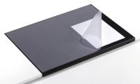 Durable 7293-01 desk pad Black