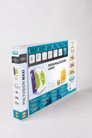 Elba Polyvision Maxi Presentation Binder Clear Polypropylene 4D-Ring 30mm L/scapeA3 Ref100080803[Pack 5]