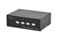 VGA Switch 4-fach, 250 MHz. Digitus® [DS-45100-1]