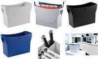 HAN Hängeregistratur-Box SWING, Kunststoff, schwarz (81420001)