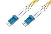 DIGITUS Fiber Optic Patch Cord. LC to LC OS2. Singlemode 09/125 µ. Duplex