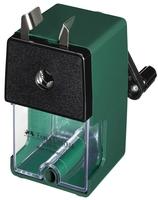 Bleistiftspitzmaschine, klein, Gehäusefarbe: grün