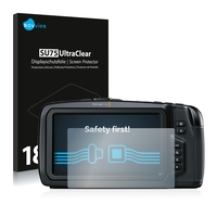 18x Savvies SU75 UltraClear Displayschutzfolie für Blackmagic Pocket Cinema 4K Camera