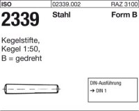 Kegelstifte B5x18
