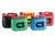Fuel can PREMIUM (UN), 5 L red, UN certification, HDPE, red accessories