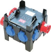 Artikeldetailsicht Kunststoff-Steckdosenverteiler M-Imst 16/2-4/OF