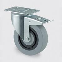Pryžové kolesá so zníženou hlučnosťou