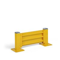 Crash protection wall, height 480 mm