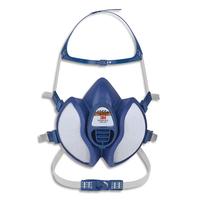 3M Masque coque 4251+ gaz et vapeurs FFA1P2RD jeu de brides et harnais, soupape parabolique K4251+