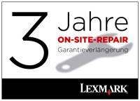 Lexmark X852e 3 Jahre (gesamt) oder 1,8 Mio. Seiten, On-Site-Repair-Garantie NBD