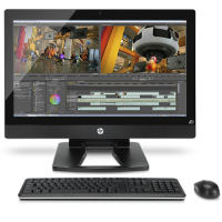 "HP Z1 3.3GHz i3-3220 27"" 2560 x 1440Pixels Zwart All-in-One workstation"