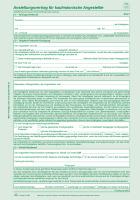 10 Anstellungsverträge für kaufmännische Angestellte - SD, 2 x 2 Blatt, DIN A4