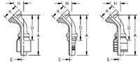 AEROQUIP 1S12FLA8